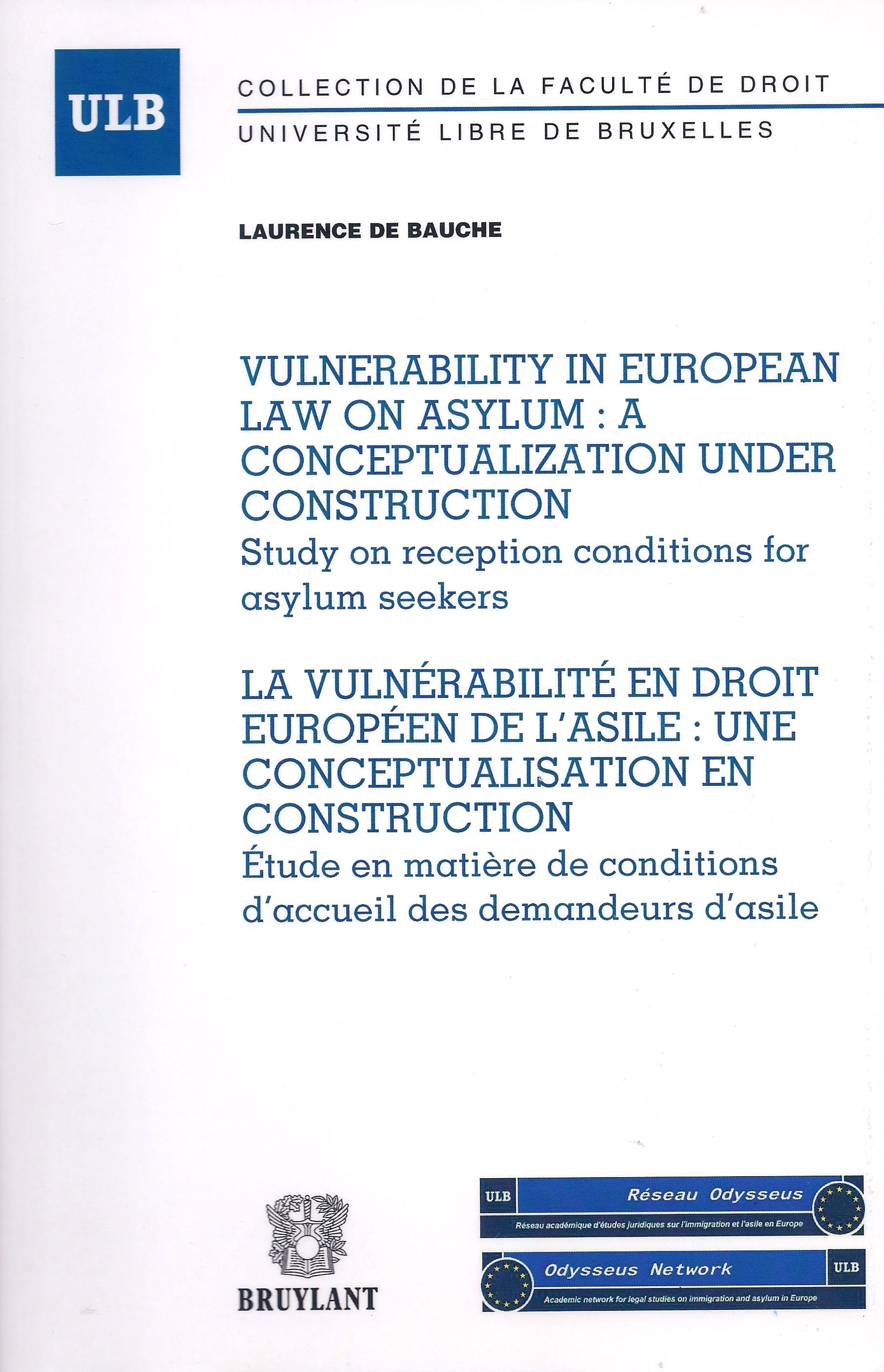 Vulnerability in EU Law on Asylum