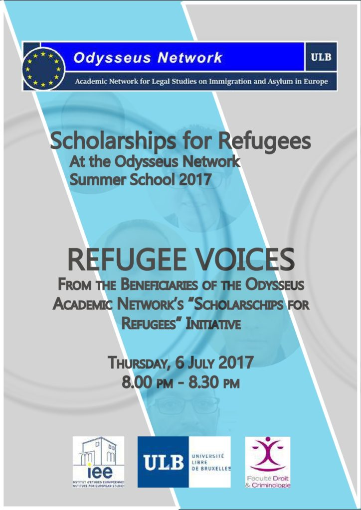 Scholarships for Refugees 2019