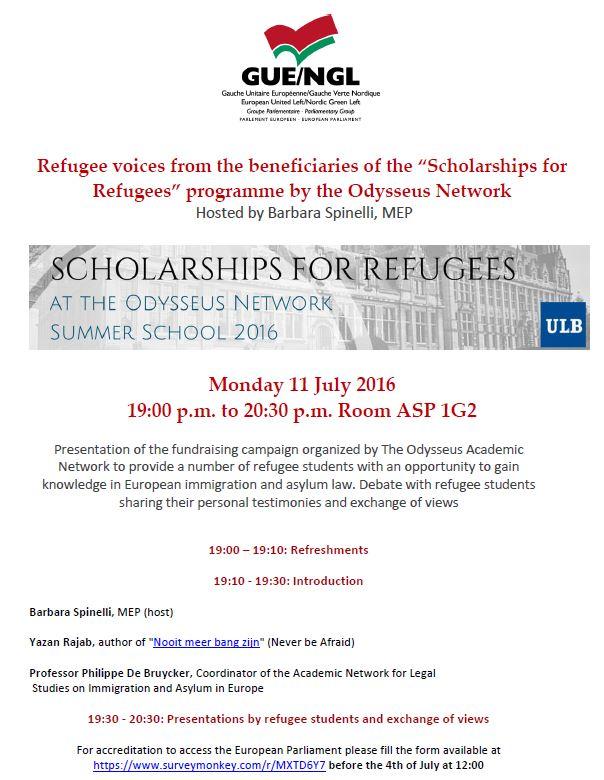 refugee voices programme